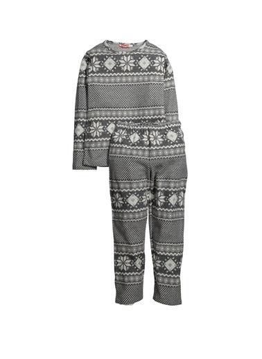 Zeyland Kar Tanesi Pijama Takımı (5-12yaş) Kar Tanesi Pijama Takımı (5-12yaş) Antrasit